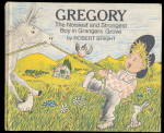 Click here to enlarge image and see more about item 000WHIT2: 1969 'Gregory - The Noisiest & Strongest Boy..' Book