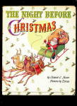 Click here to enlarge image and see more about item 000XMSBK15: 1948 'Night Before Christmas' Book with DJ