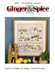 Click here to enlarge image and see more about item 000XST12: Great 'California Sampler'- Cross Stitch Pattern
