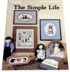 Click here to enlarge image and see more about item 000XST14: The Simple Life Cross Stitch Pattern -  Leisure Arts