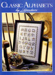 Click here to enlarge image and see more about item 000XST30: Classic Alphabet Cross Stitch Leaflet - Herrschners