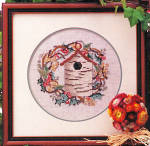 Click to view larger image of 'The Birch Bark Inn' Bird House Cross Stitch Pattern (Image2)