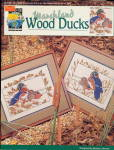 Click here to enlarge image and see more about item 000XSTA1: 1992 'Marshland Wood Ducks' Cross Stitch Patterns