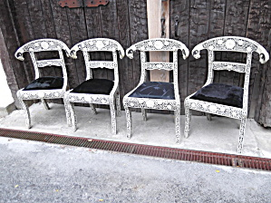 Camel bone Ram head chairs (Image1)