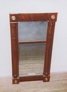 Continental Empire Mahogany Mirror (Image1)