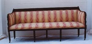Federal Mahogany Sofa (Image1)
