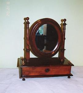 Federal Valnut Mirror (Image1)
