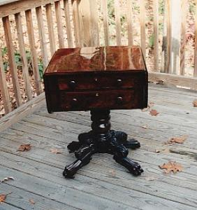 Empire Mahogany Work Table (Image1)