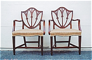 American  Neoclassical Dining Chairs (Image1)