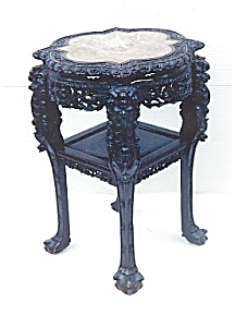 Carved Marble top Stand (Image1)