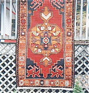 Turkish Kazak Rug (Image1)