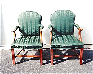 American Federal Style Armchairs (Image1)