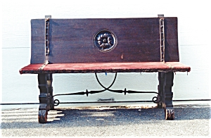 An 18th,  Century Spanish Oak Bench (Image1)