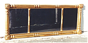 American three part over mantle Mirror. (Image1)