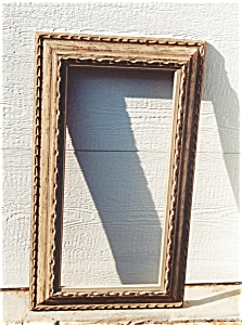 A very nice rustic frame. (Image1)