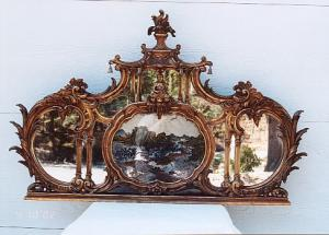 Chinese Chippendale Mirror (Image1)