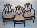 Click to view larger image of English Dining Chairs (Image1)