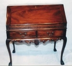 Click here to enlarge image and see more about item 158: Chinese Chippendale Slant Front Desk