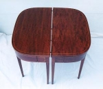 Click here to enlarge image and see more about item 192: Mahogany Dining Table