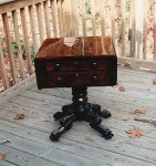 Click to view larger image of Empire Mahogany Work Table (Image1)