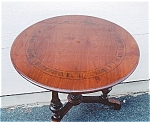 Click here to enlarge image and see more about item 204: Walnut Center Table