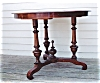 Click to view larger image of Walnut Center Table (Image3)