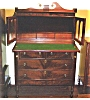 Click to view larger image of Federal mahogany secretary bookcase (Image2)