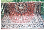 Click to view larger image of Persian Kashan Rug (Image1)