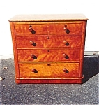 Click here to enlarge image and see more about item 307: English Birch Chest of Drawer