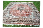 Click here to enlarge image and see more about item 311: Silk and Wool Carpet