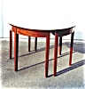 Click to view larger image of American Mahogany Dining Room table. (Image2)