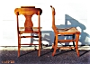 Click to view larger image of A Pair of Birds Eye Maple Chairs (Image2)