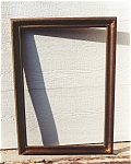 Composition on wood frame