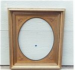 Click to view larger image of A nice  frame with Oval Insert (Image1)