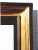 Click to view larger image of A Large Gilded/Ebonized Mirror (Image2)