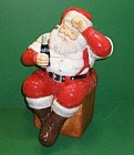 Coca Cola Santa Cookie Jar