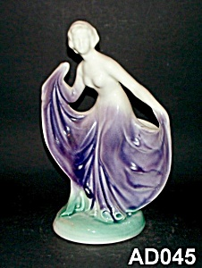 Art Deco Lady Vase