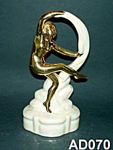 Art Deco Nude Lady Figurine (Image1)