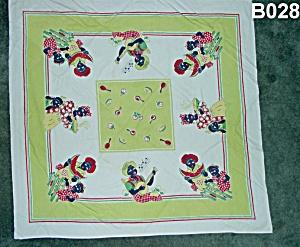 Black Americana Table Cloth (Image1)