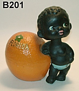 "5 1/4"" Nodding ""black Boy"" Bank"
