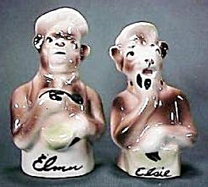 Elsie The Cow & Elmer Salt & Pepper Shakers (Image1)
