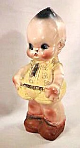 "12"" Chalk Kewpie Doll Bank (Image1)"