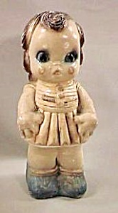 "12"" Carnival Chalk Doll Bank (Image1)"