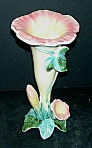 """8"""" Majolica """"Daffodil"""" Vase (Image1)"""