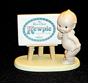 Rose O'neill Kewpie Dealer Sign (Image1)