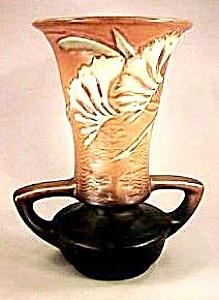 """9"""" Roseville """"Freesia"""" Vase (Image1)"""