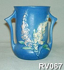 "4"" Roseville ""Foxglove""  Vase (Image1)"