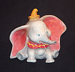 "Vintage ""dumbo"" Figural String Holder (Wdp)"