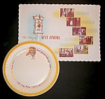 Click here to enlarge image and see more about item B024: Aunt Jemima Paper Plate & Place Mat