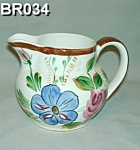 "Click here to enlarge image and see more about item BR034: Blue Ridge ""Helen"" Shape Pitcher"